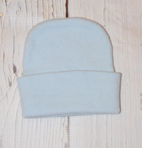 Knit Hat- Light Blue