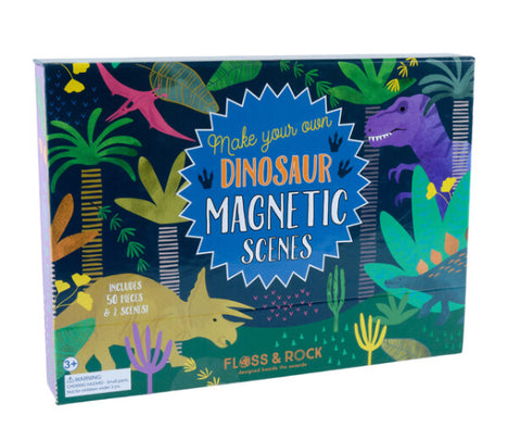 Dinosaur Magnetic Play Scene