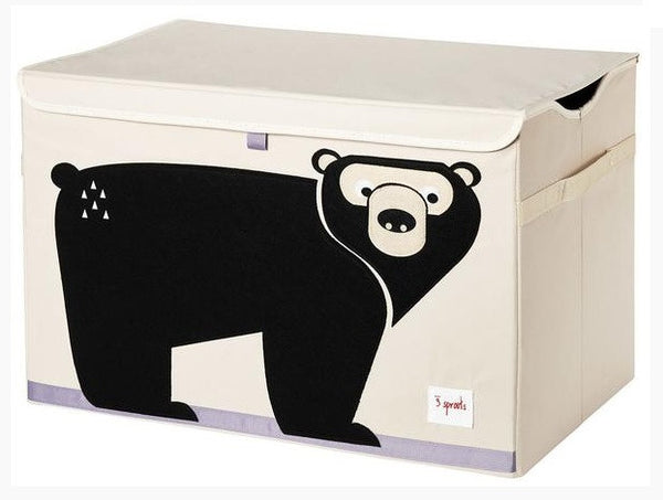 3 Sprouts Toy Chest- Bear