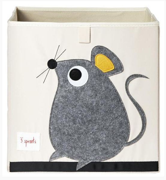 3 Sprouts Storage Box- Mouse