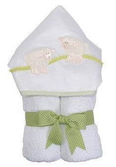 3 Marthas Towel in Lamb Green