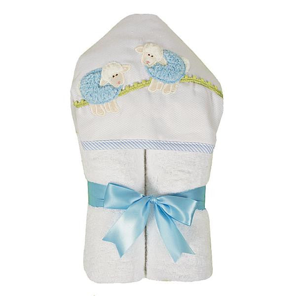 3 Marthas Towel in Lamb Blue