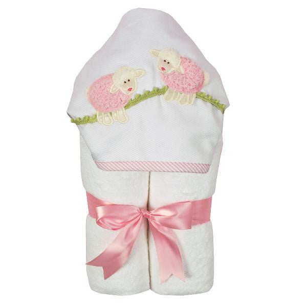 3 Marthas Towel in Lamb Pink