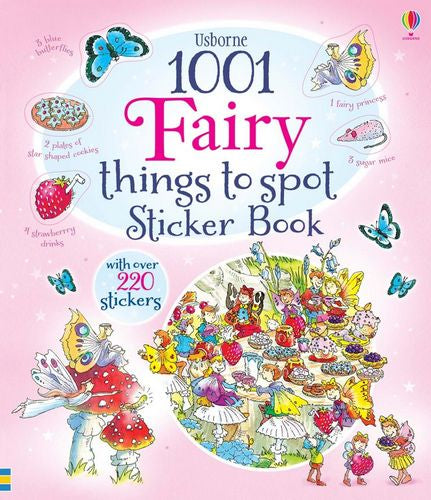 1001 Things to Spot in Fairyland Sticker Book