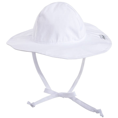 Flap Happy Sun Hat in White