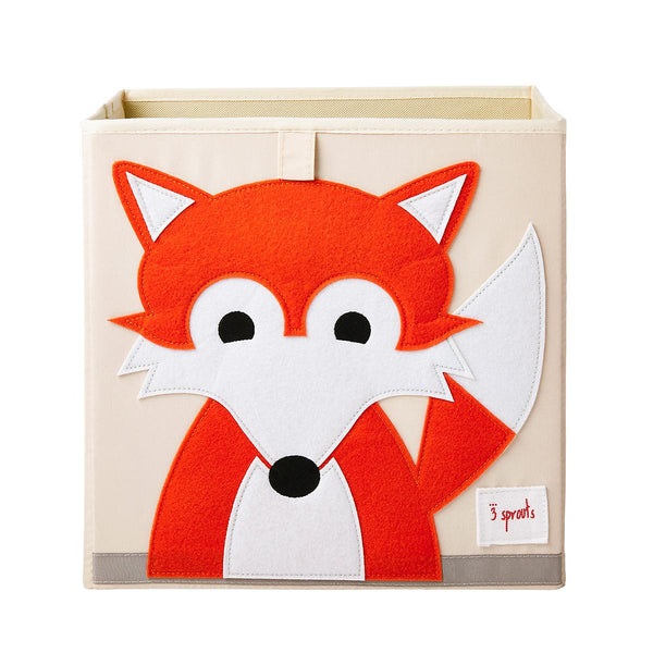 3 Sprouts Storage Box- Fox