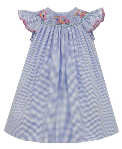 SPRING Petit Bebe Golf Angel Wing Bishop Dress