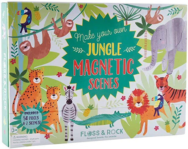 Jungle Magnetic Play Scene