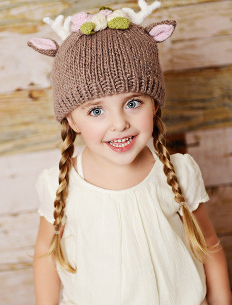 e53cd433055 Blueberry Hill Hat in Hartley Deer – Ladies in Waiting