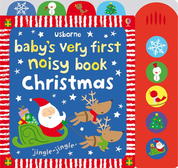 Baby's Very First Noisy Book Christmas