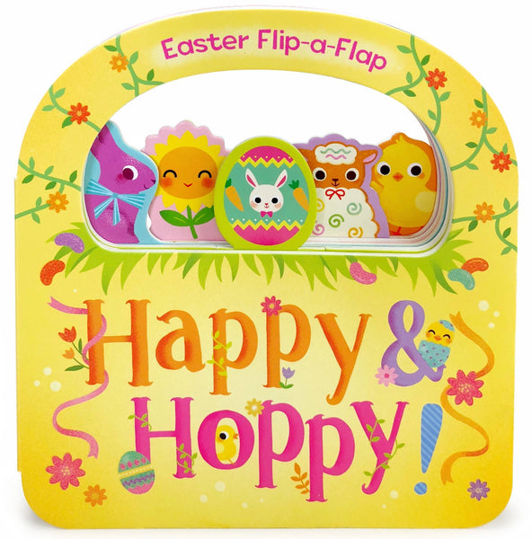 Happy and Hoppy Board Book