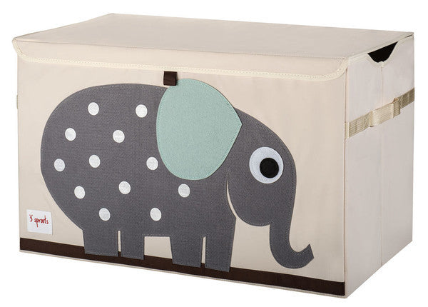 3 Sprouts Toy Chest- Elephant