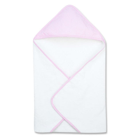 Trend Lab Hooded Towel in Pink Gingham