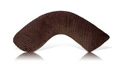 Luna Lullaby Nursing Pillow in Chocolate