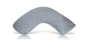 Luna Lullaby Nursing Pillow in Grey