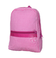 Oh Mint! Backpack in Hot Pink Gingham