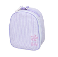 Oh Mint! Cooler Bag in Lilac Seersucker