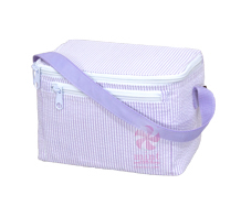 Oh Mint! Lunchbox in Lilac Seersucker