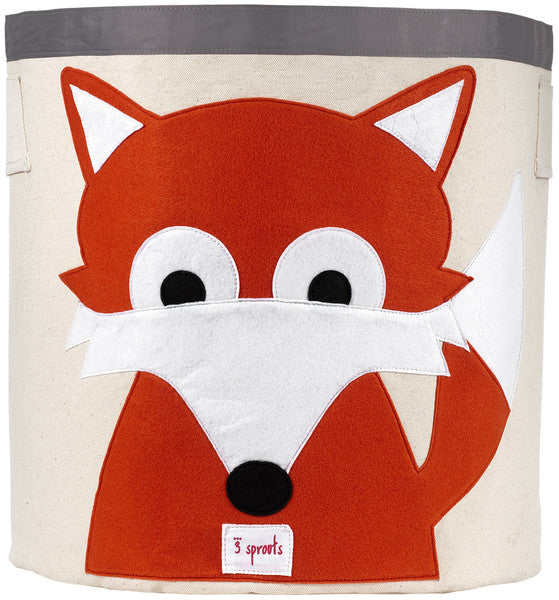 3 Sprouts Storage Bin- Fox