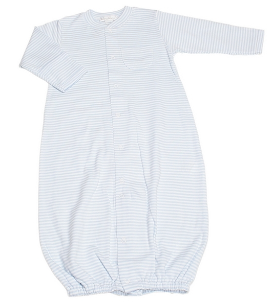 Kissy Kissy Converter Gown- Blue Stripe