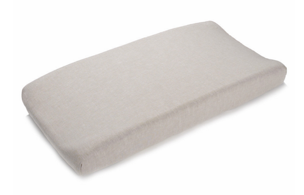 Liz & Roo Changing Pad Cover Flax Linen