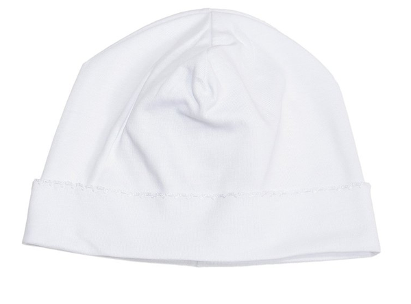 Kissy Kissy Knit Hat- White/White