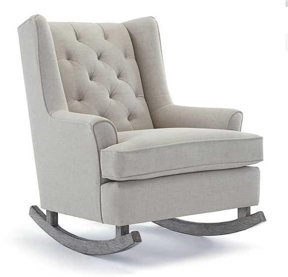 Best Chairs Paisley Style #0165R Riverloom Rocker