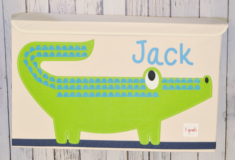 3 Sprouts Toy Chest- Alligator
