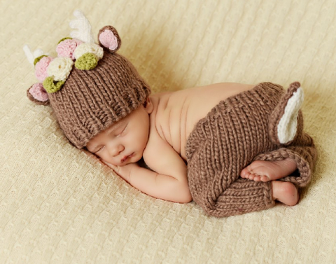 Blueberry Hill Deer Newborn Set
