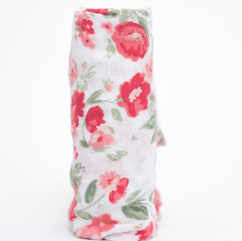 Saranoni Muslin Swaddle in Spiced Blossom