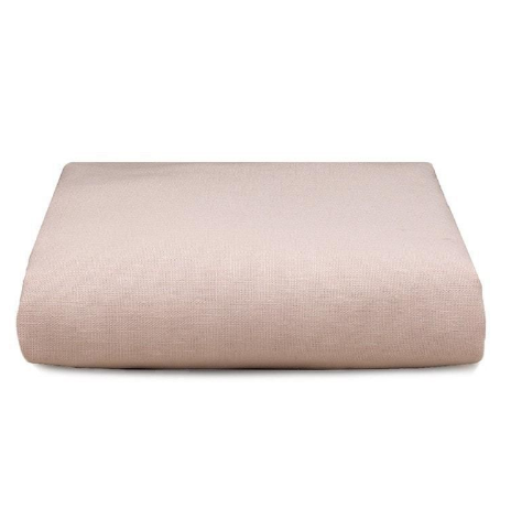 Liz & Roo Crib Sheet in Petal Pink Linen