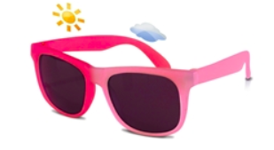Switch Color Changing Sunglasses- Light Pink to Dark Pink