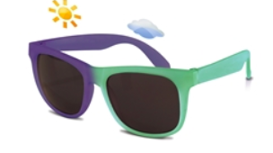 Switch Color Changing Sunglasses- Green to Blue