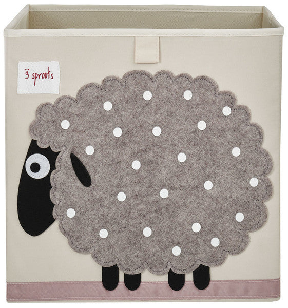 3 Sprouts Storage Box- Sheep