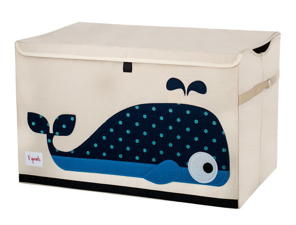 3 Sprouts Toy Chest- Whale