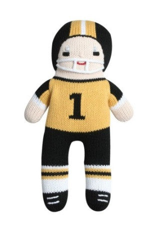 Zubels Football Player in Black/Gold