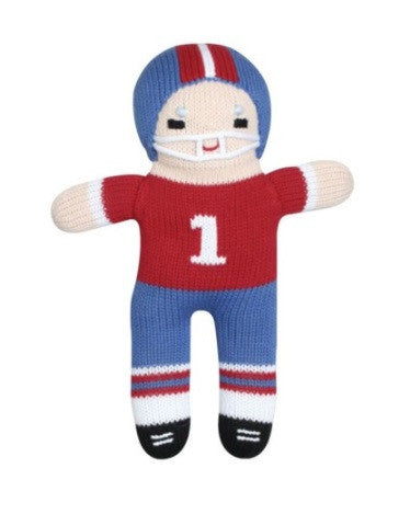 Zubels Football Player in Red/Blue