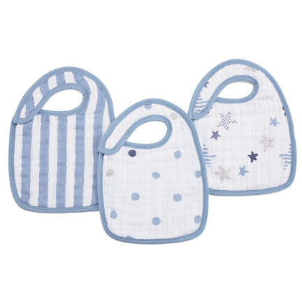 Aden Snap Bibs in Rock Star