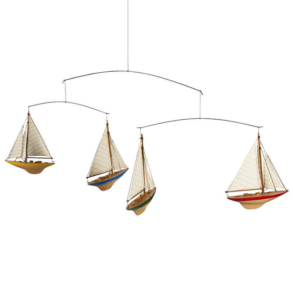 Authentic Models Sailboat Mobile