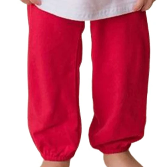 Boys Banded Pants- Red