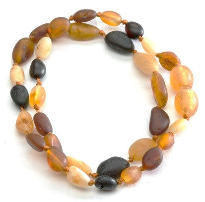 Cherished Moments Amber Necklace in Multi