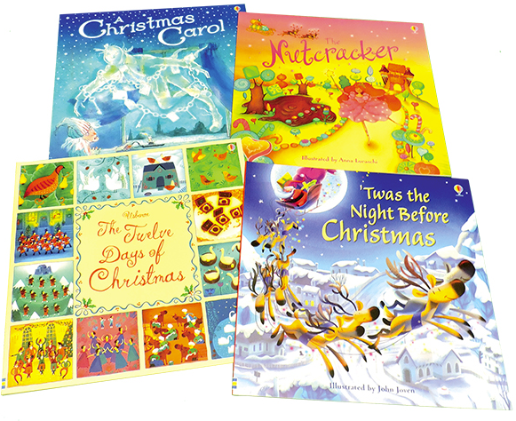 Christmas Picture Book 4 Pack