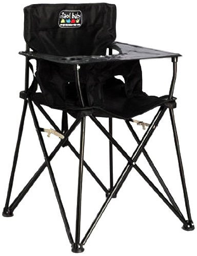 Ciao! Portable Highchair in Black