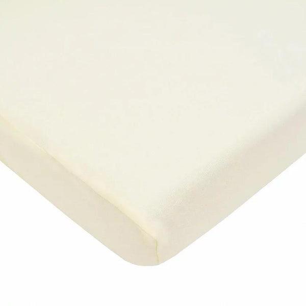 100% Cotton Jersey Sheet Cream