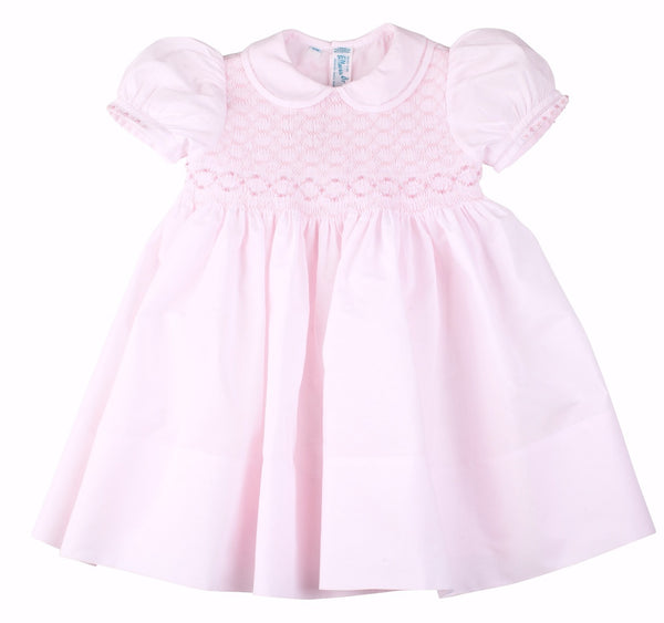 Feltman Collared Smocked Dress