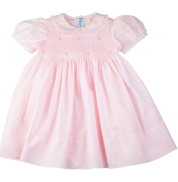 Feltman Lacy Smocked Dress