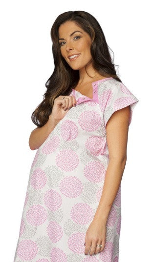 Gownies Hospital Gown in Lily