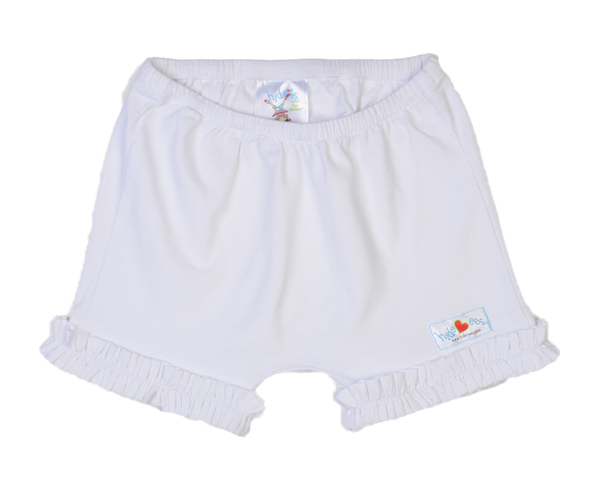 Hide-ees Bloomers in White