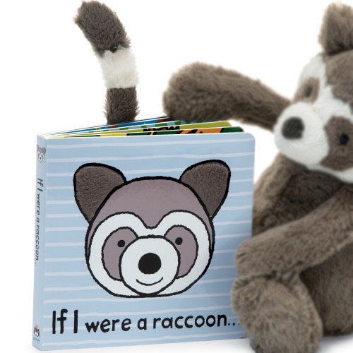 Jellycat If I were a Raccoon