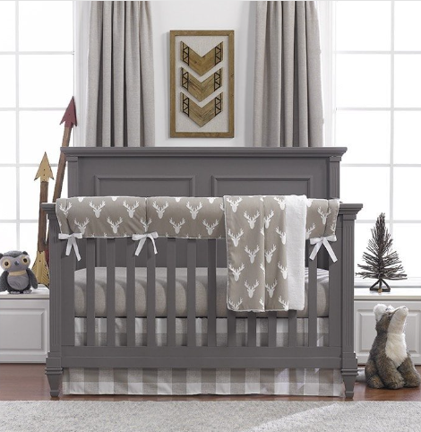 Liz & Roo Bumperless Set in Taupe Buck